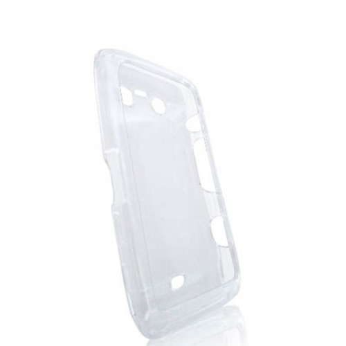 BlackBerry Torch 9850 9860 Clear Crystal Transparent Hard Case Cover