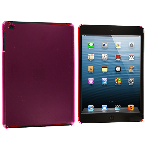 Apple iPad Mini Hot Pink Crystal Hard Back Cover Case