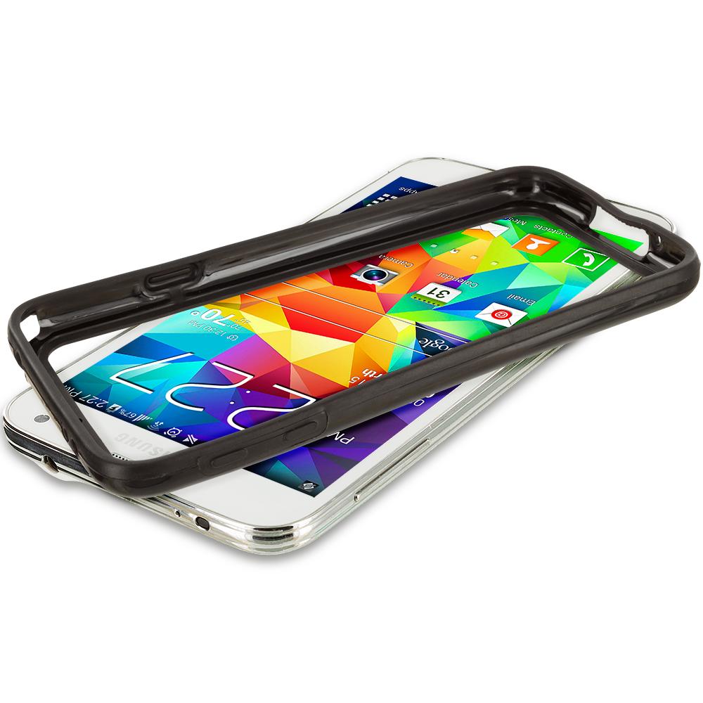 Samsung Galaxy S5 Black TPU Bumper Frame Case Cover