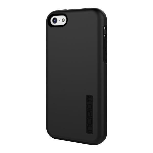 iPhone 5C - Black/Black Incipio DualPro Case Cover