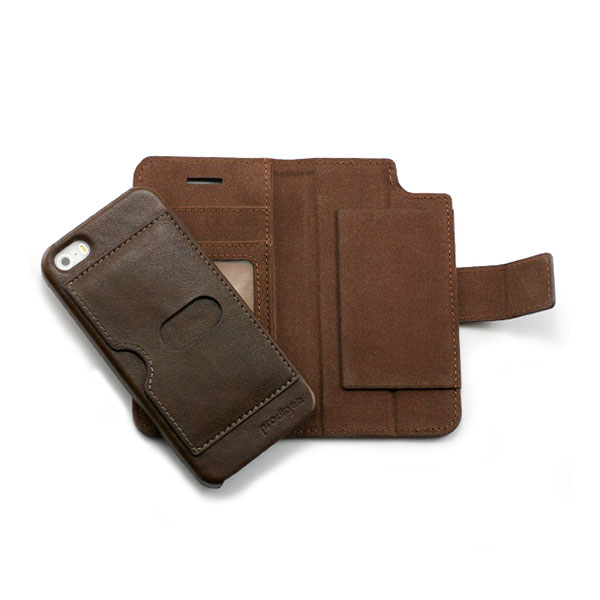 iPhone 6/6S Plus - Brown Prodigee Wallegee Case Plus