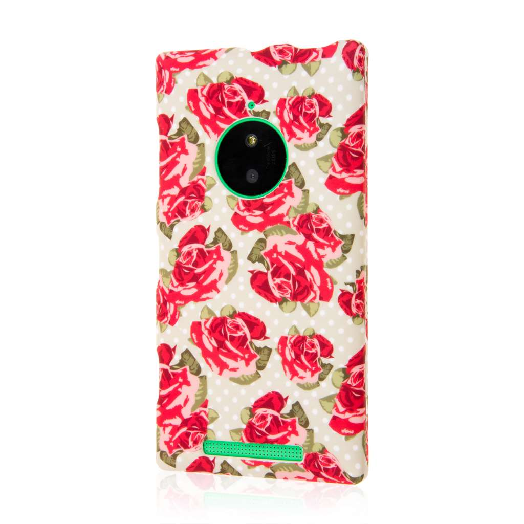 Nokia Lumia 830 - Vintage Red Roses MPERO SNAPZ - Case Cover
