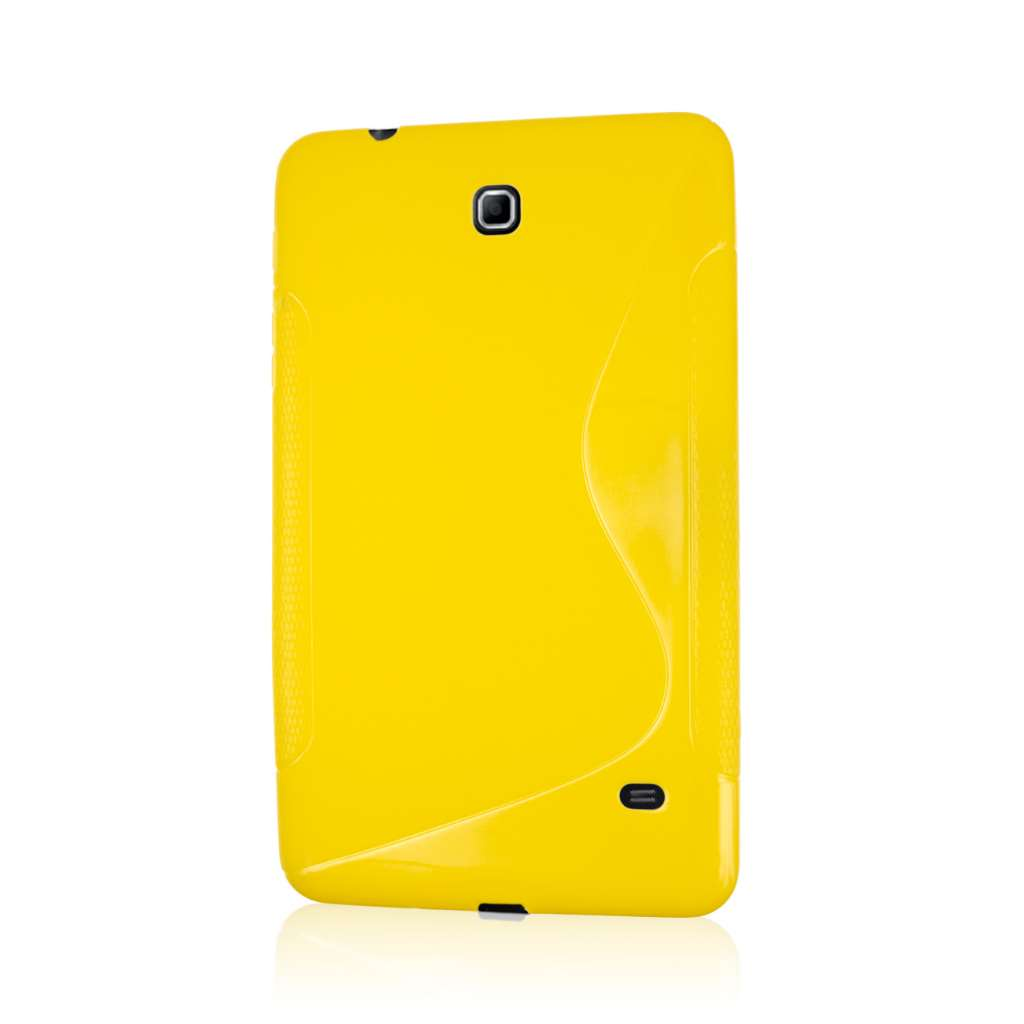 Samsung Galaxy Tab 4 8.0 - Yellow MPERO FLEX S - Protective Case Cover