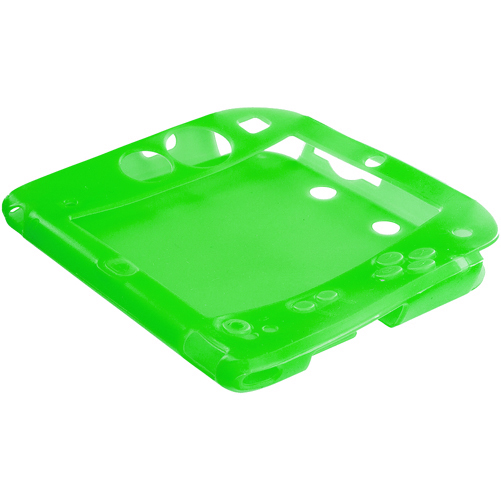 Nintendo 2DS Green Silicone Soft Skin Case Cover
