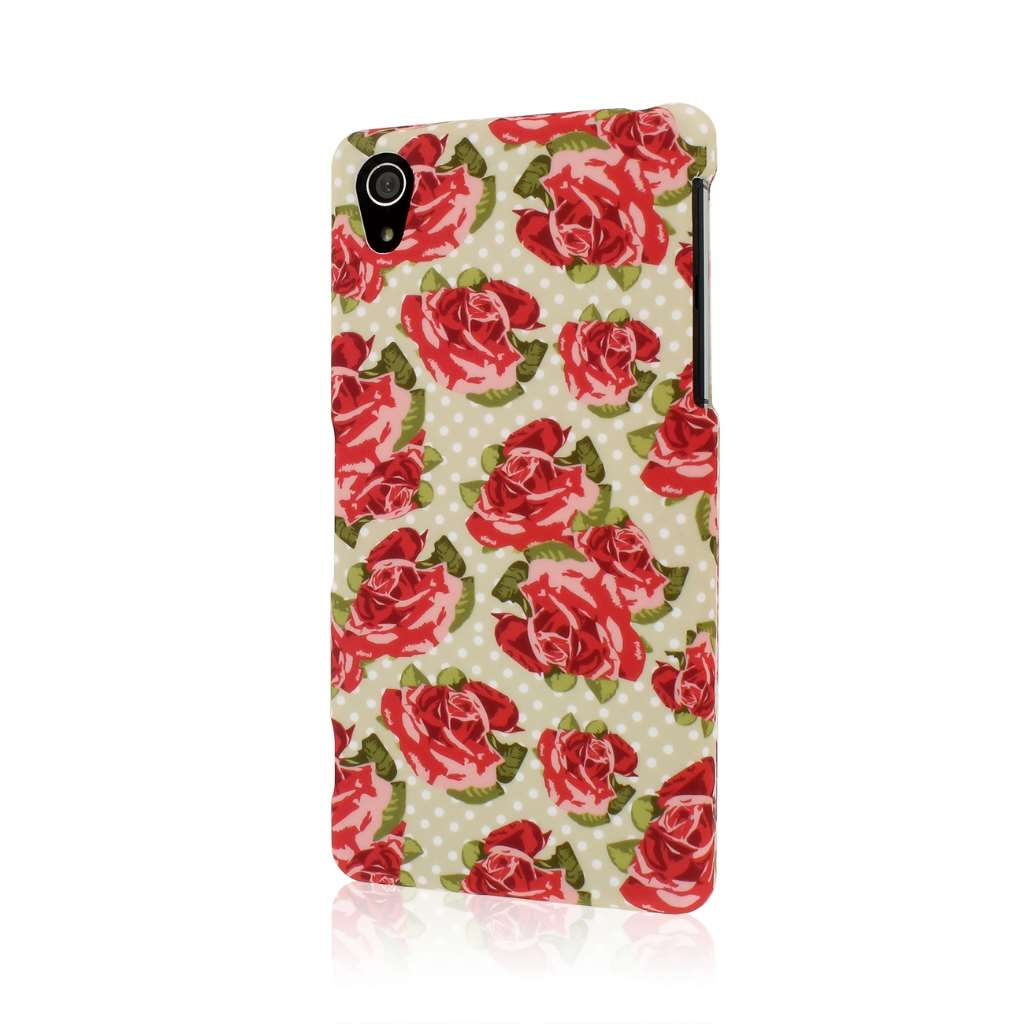 Sony Xperia Z2 - Vintage Red Roses MPERO SNAPZ - Case Cover