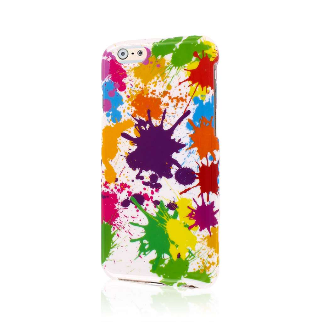 Apple iPhone 6/6S - White Paint Splatter MPERO SNAPZ - Case Cover