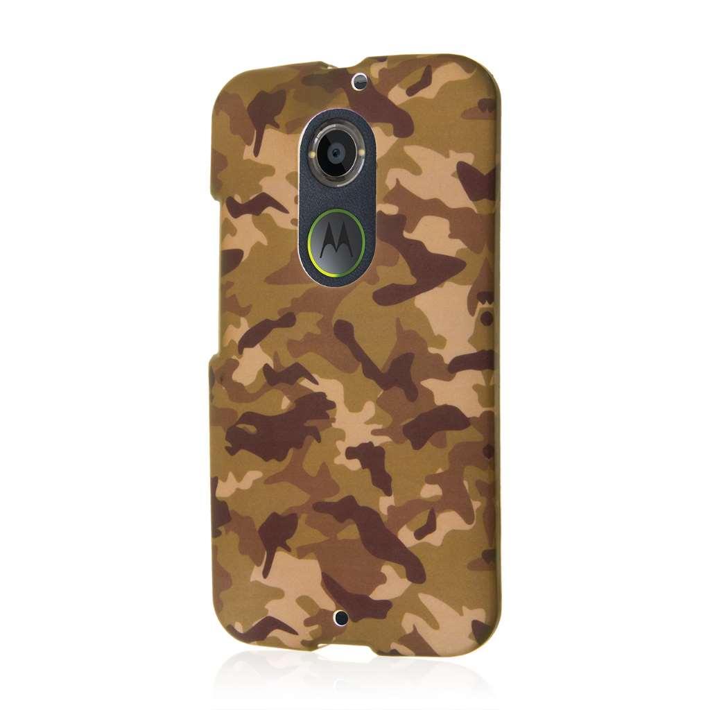 Motorola Moto X 2014 2nd Gen - Green Camo MPERO SNAPZ - Case Cover