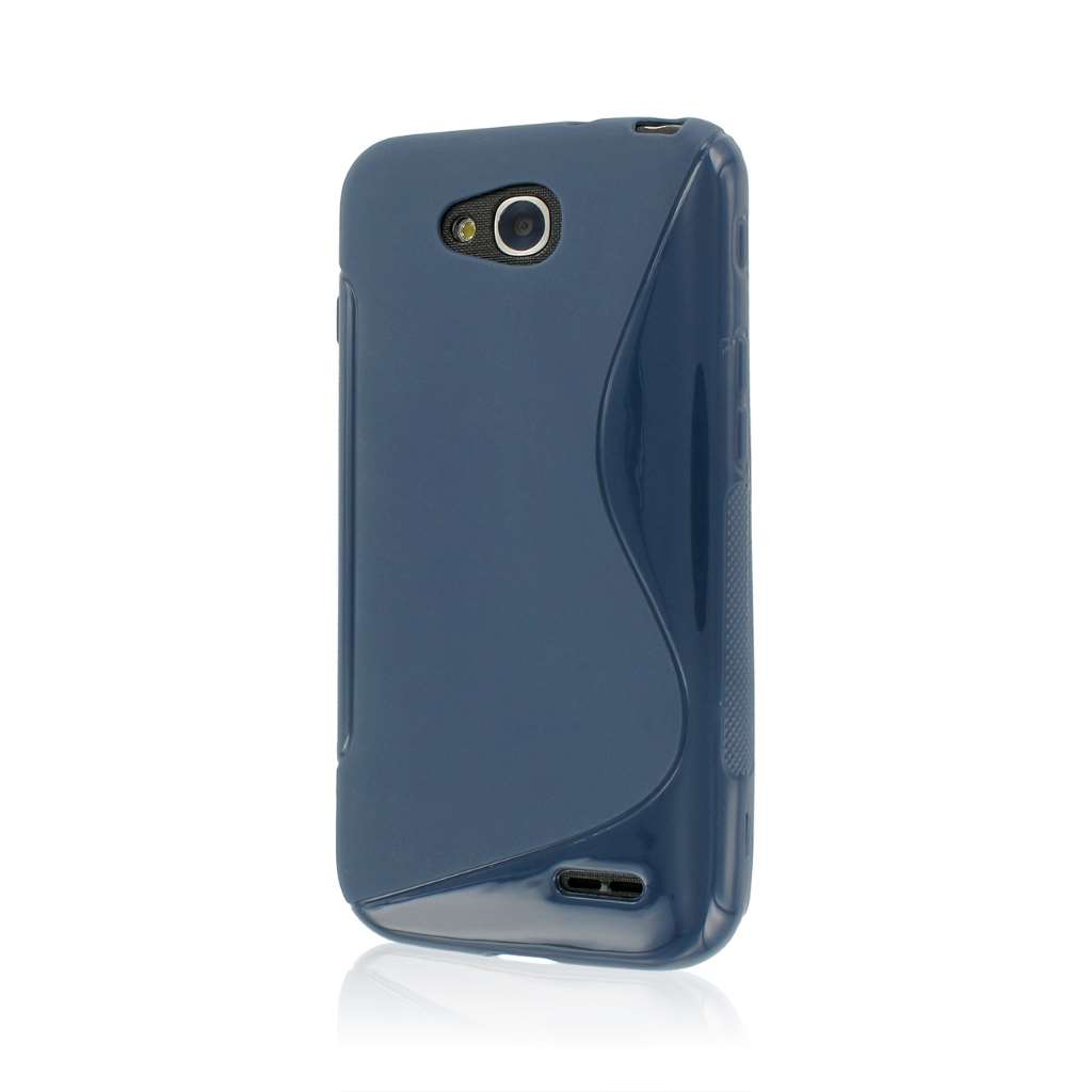 LG Optimus L90 - Blue MPERO FLEX S - Protective Case Cover