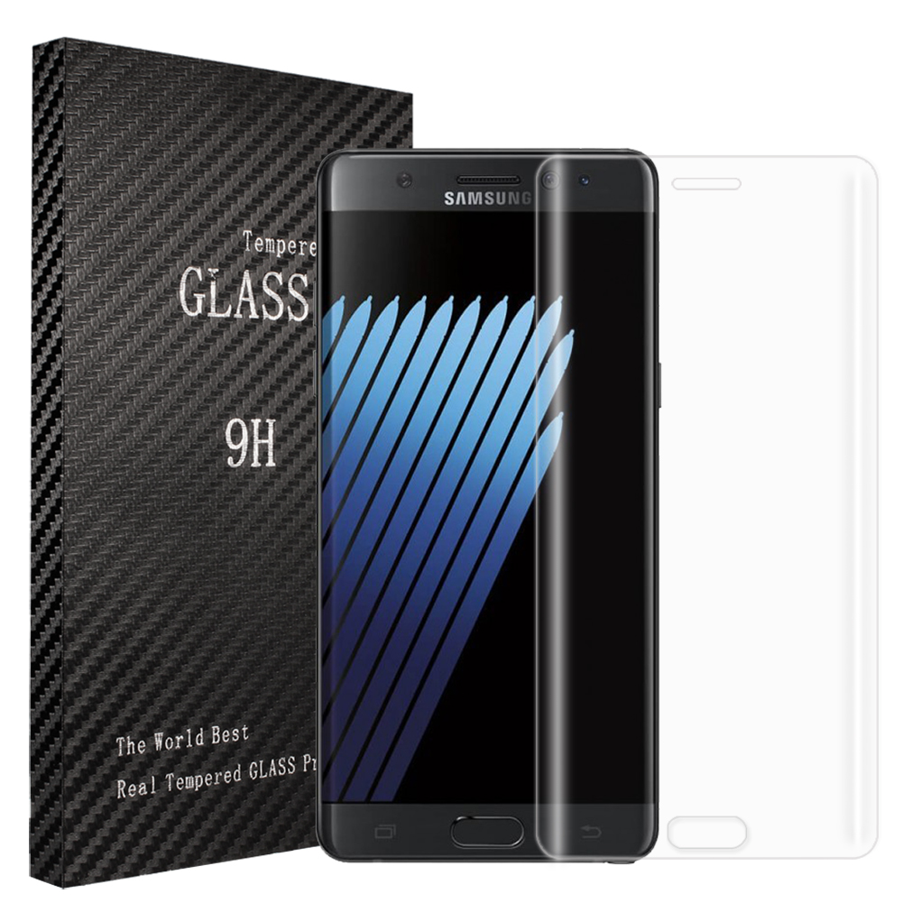 Samsung Galaxy Note 7 Clear Full Curved Tempered Glass Screen Protector