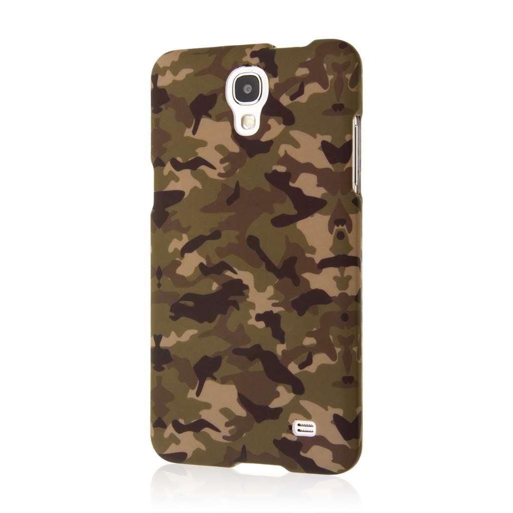 Samsung Galaxy Mega 2 - Green Camo MPERO SNAPZ - Case Cover