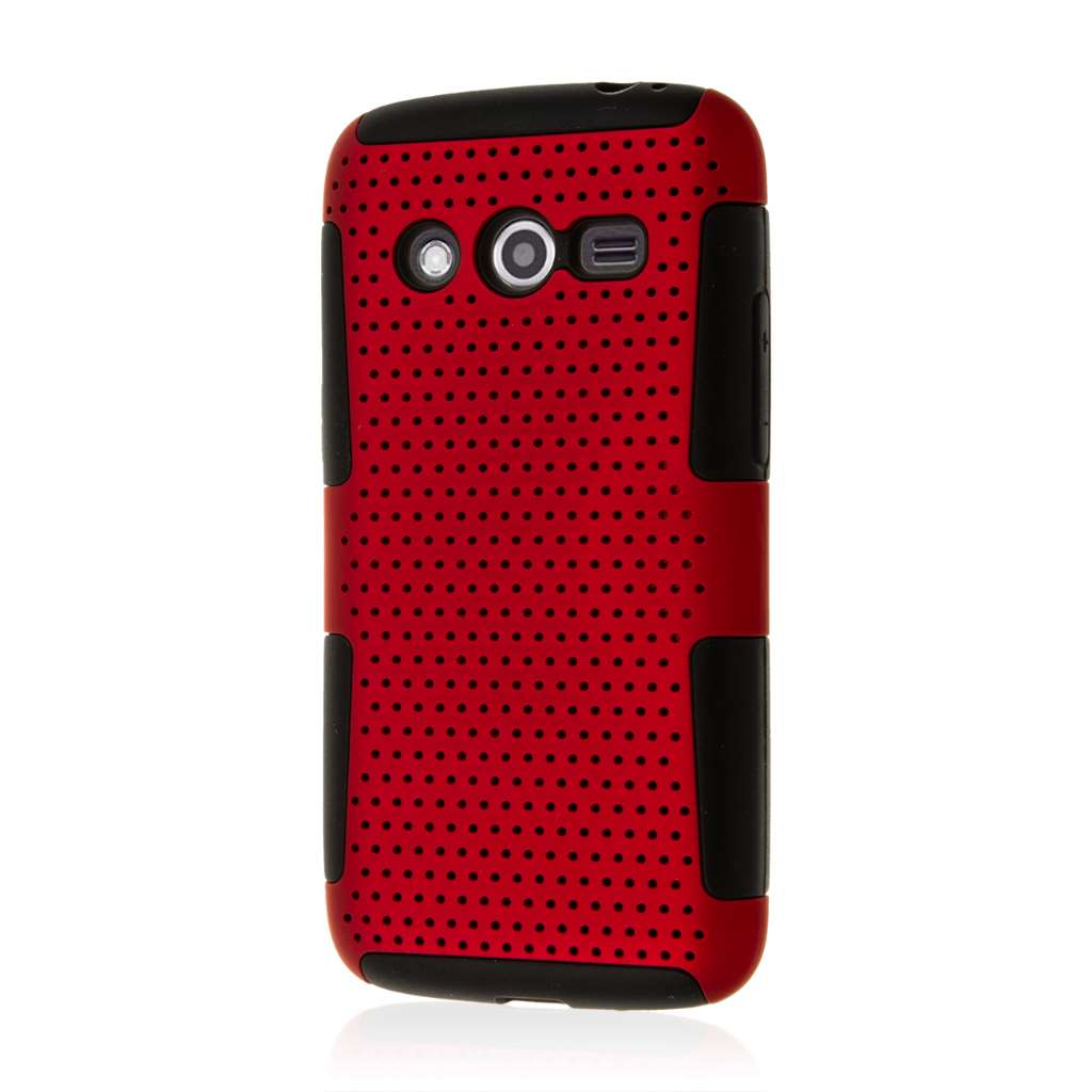 Samsung Galaxy Avant - Red MPERO FUSION M - Protective Case Cover