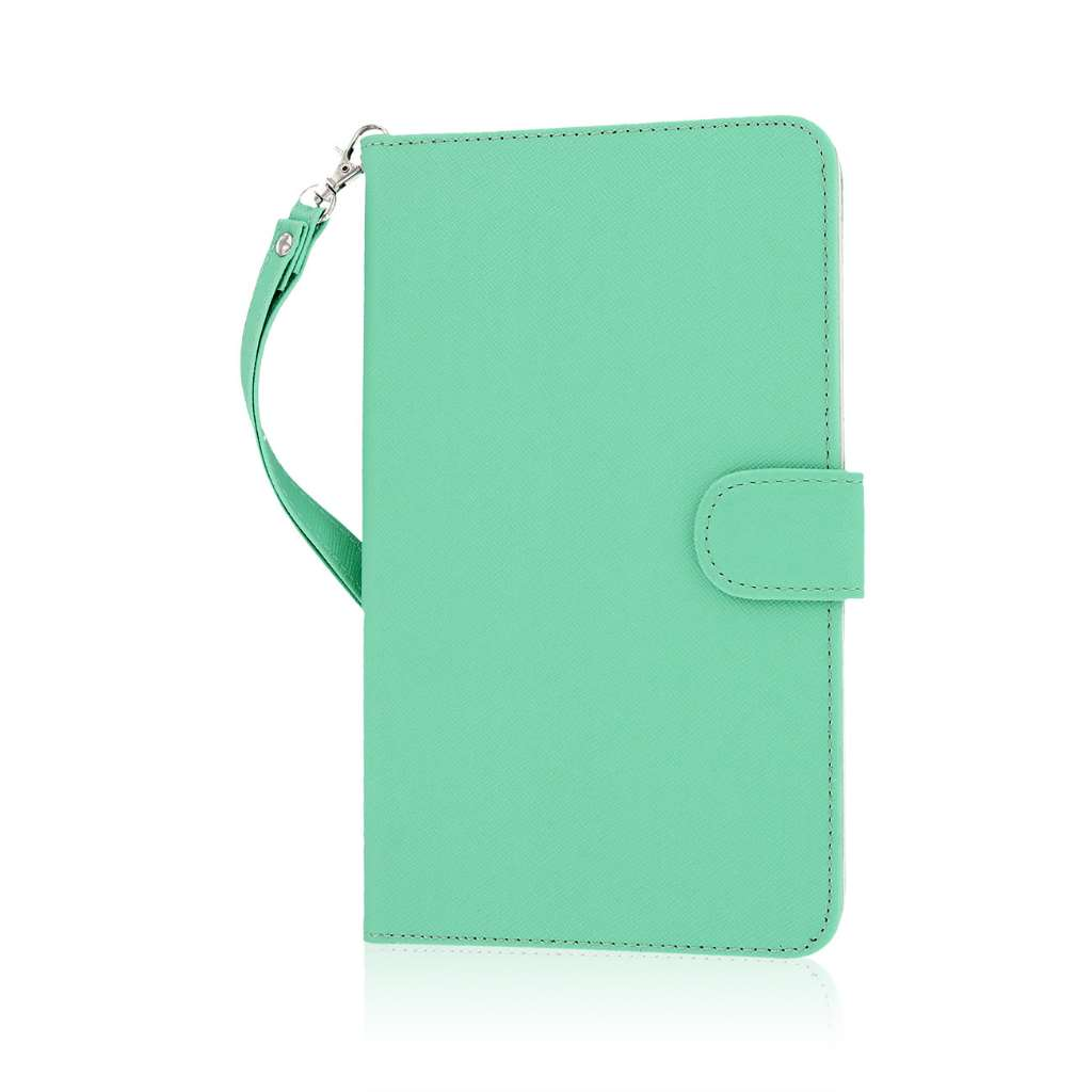 Samsung Galaxy Tab 4 7.0 - Mint MPERO FLEX FLIP Wallet Case Cover