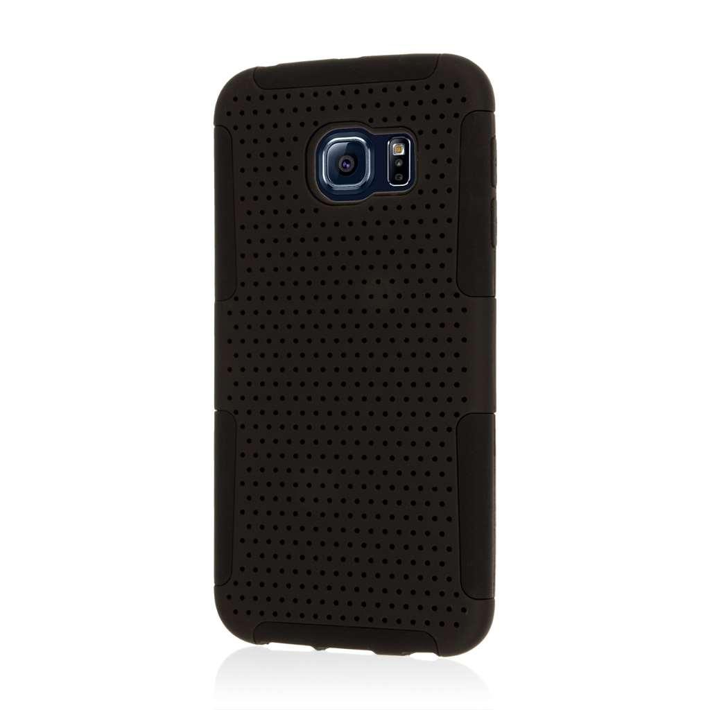 Samsung Galaxy S6 Edge - Black MPERO FUSION M - Protective Case Cover