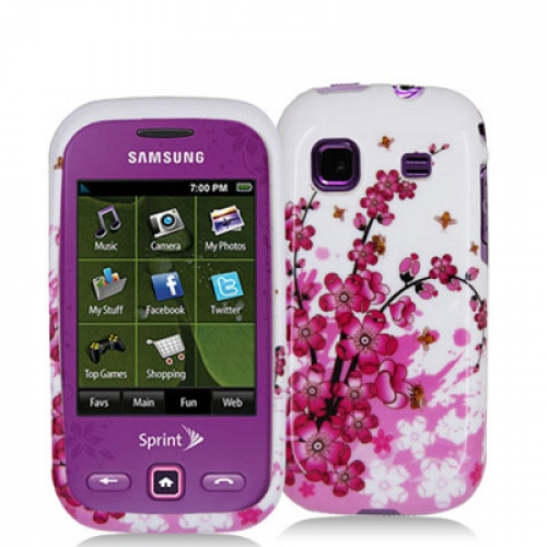 Samsung Trender M380 Spring Flowers Design Crystal Hard Case Cover