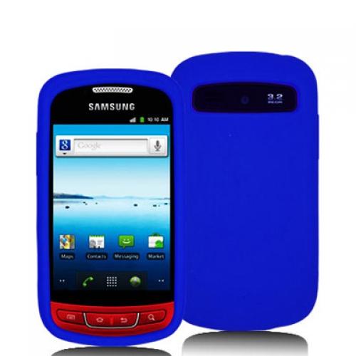 Samsung Admire R720 Blue Silicone Soft Skin Case Cover