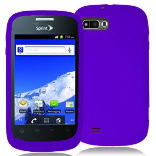 ZTE Fury N850 Purple Silicone Soft Skin Case Cover