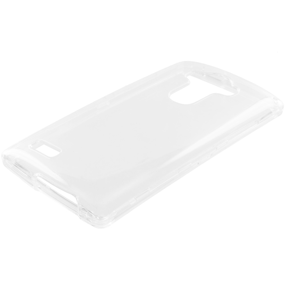 LG G4 Clear Crystal Transparent Hard Case Cover