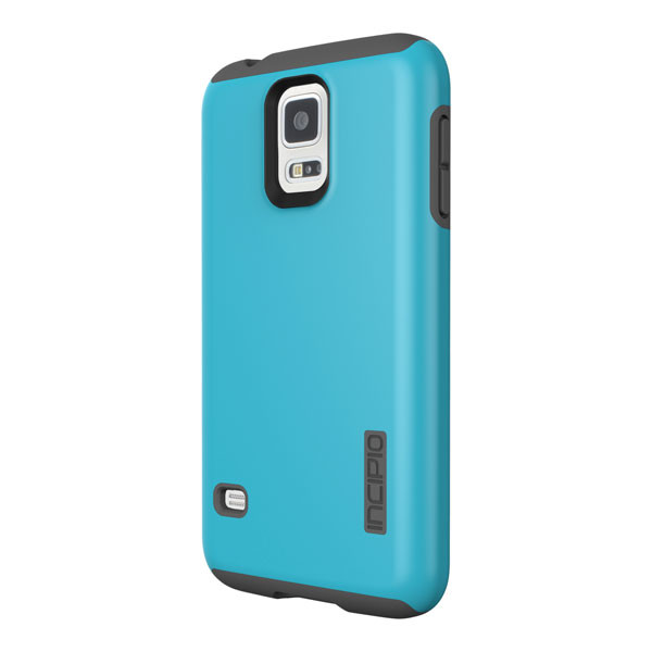 Samsung Galaxy S5 - Cyan/Gray Incipio DualPro Case Cover