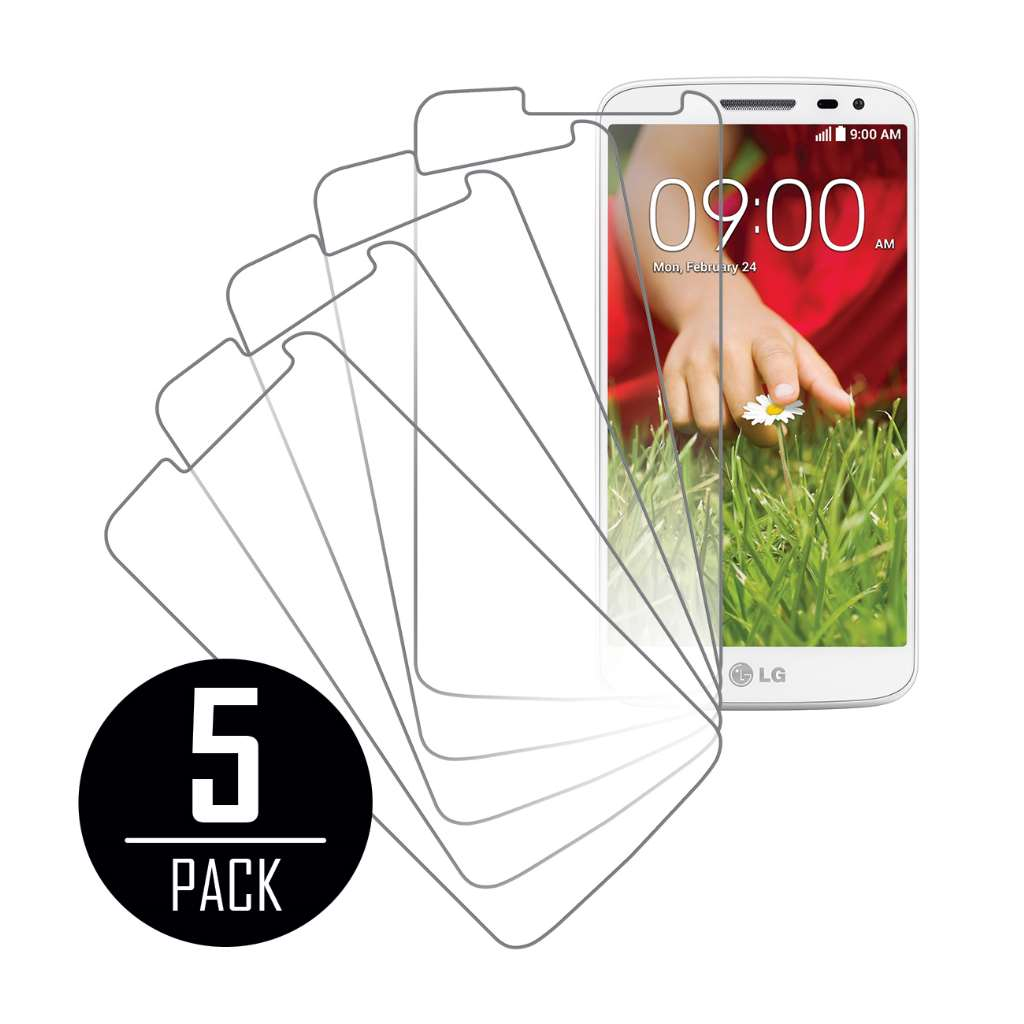LG G2 Mini MPERO 5 Pack of Clear Screen Protectors