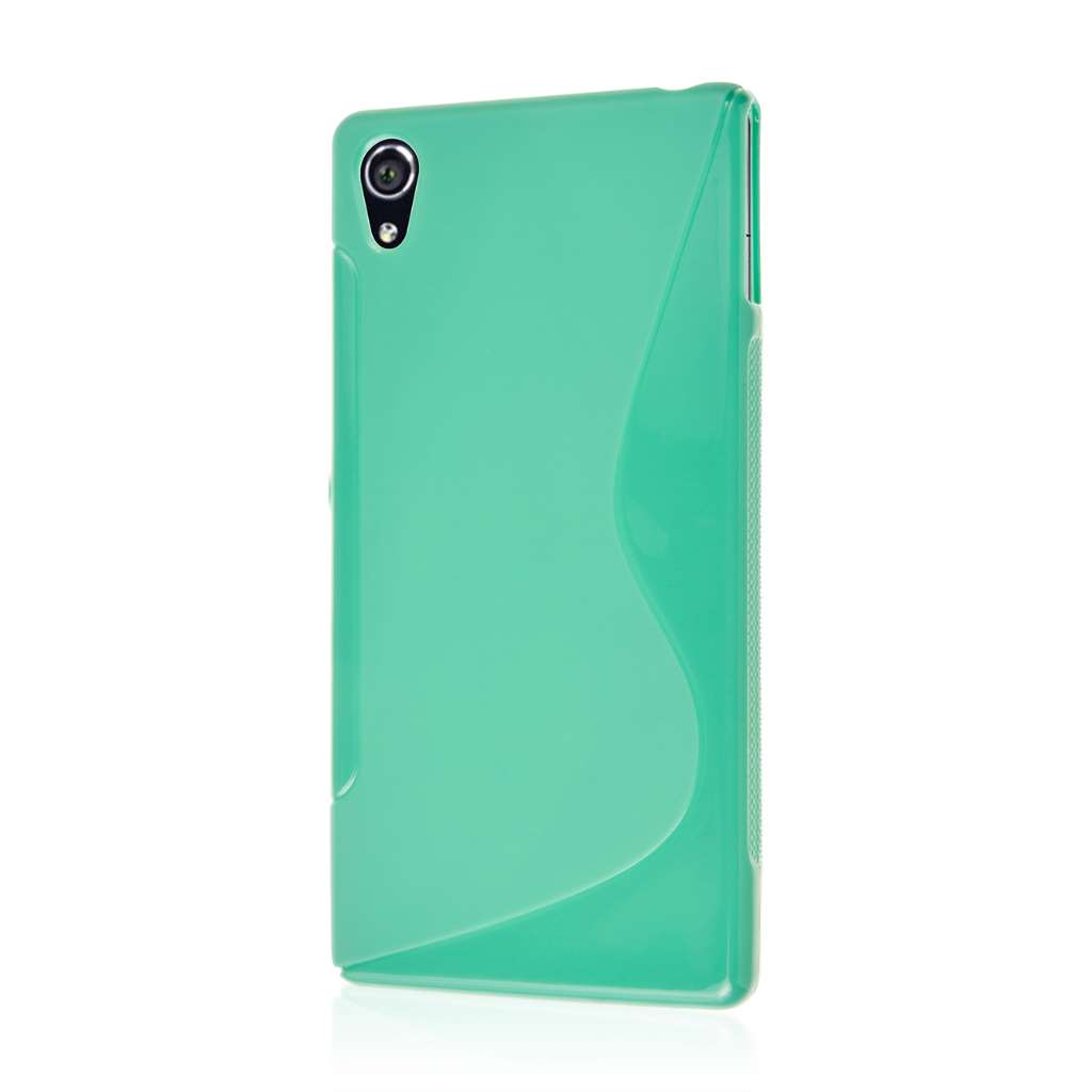 Sony Xperia Z3v - Mint Green MPERO FLEX S - Protective Case Cover