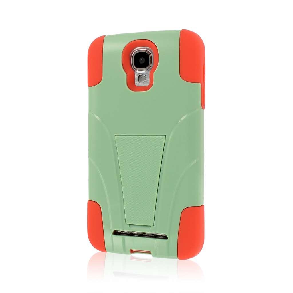 Samsung ATIV SE - Coral / Mint MPERO IMPACT X - Kickstand Case Cover