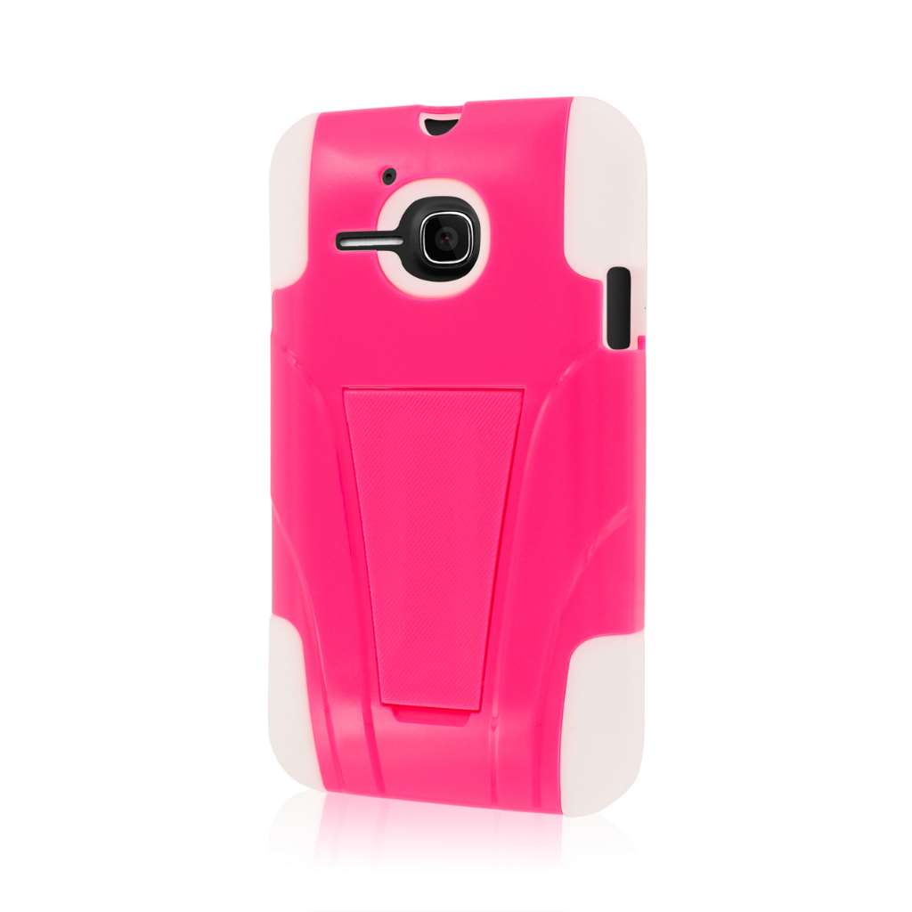 Alcatel OneTouch Evolve- HOT PINK MPERO IMPACT X - Kickstand Case Cover