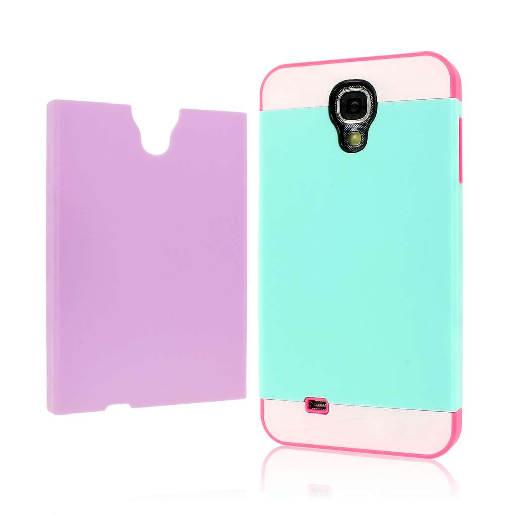 Samsung Galaxy S4 - Hot Pink / Mint MPERO Fusion Fit - Protective Case