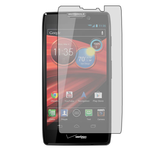 Motorola Droid Razr HD XT926 Anti Glare LCD Screen Protector