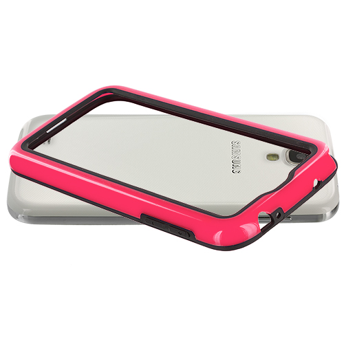 Bumper TPU Frame Color Hard Rubber Case Cover for Samsung Galaxy S4 SIV i9500