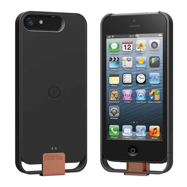 iPhone 5 - Black Duracell PowerMat Access Case