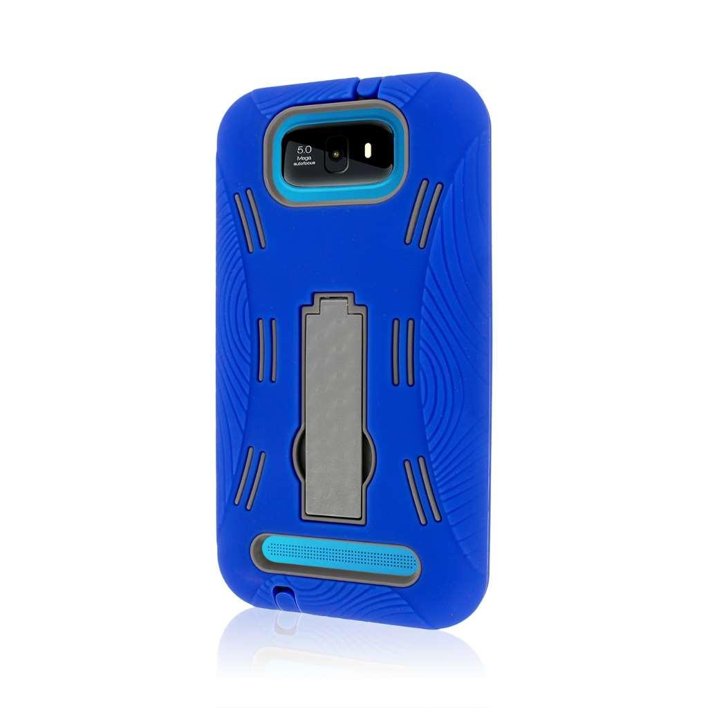 BLU Studio 5.5 - Blue MPERO IMPACT XL - Kickstand Case Cover