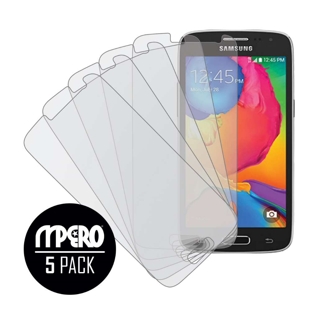Samsung Galaxy Avant MPERO 5 Pack of Matte Screen Protectors