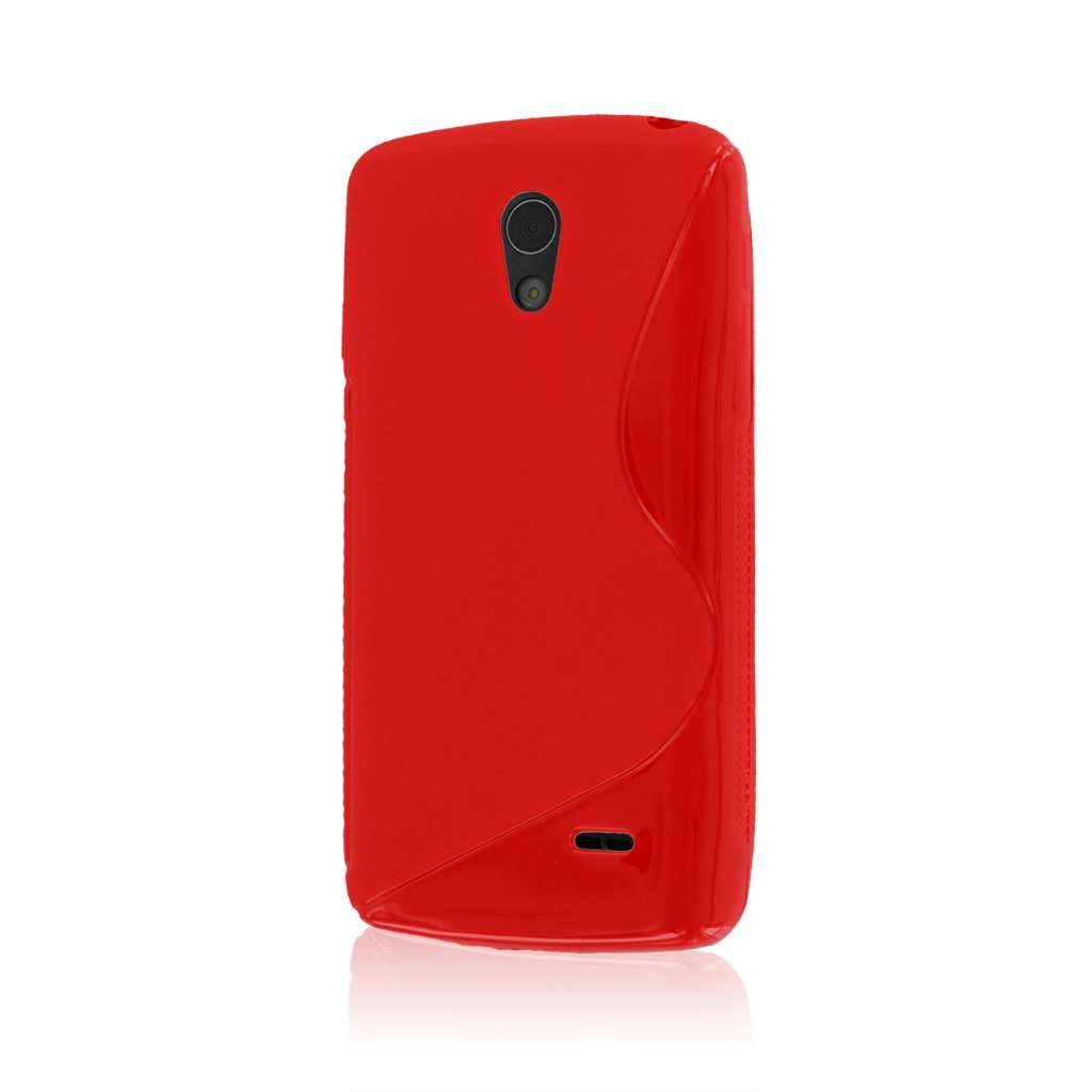LG Lucid 3 - Red MPERO FLEX S - Protective Case Cover