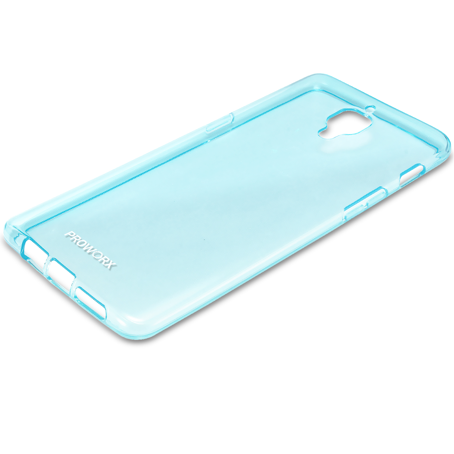 Oneplus Three 3 Mint Green ProWorx Ultra Thin Slim-Grip Scratch Resistant TPU Silicone Case Cover