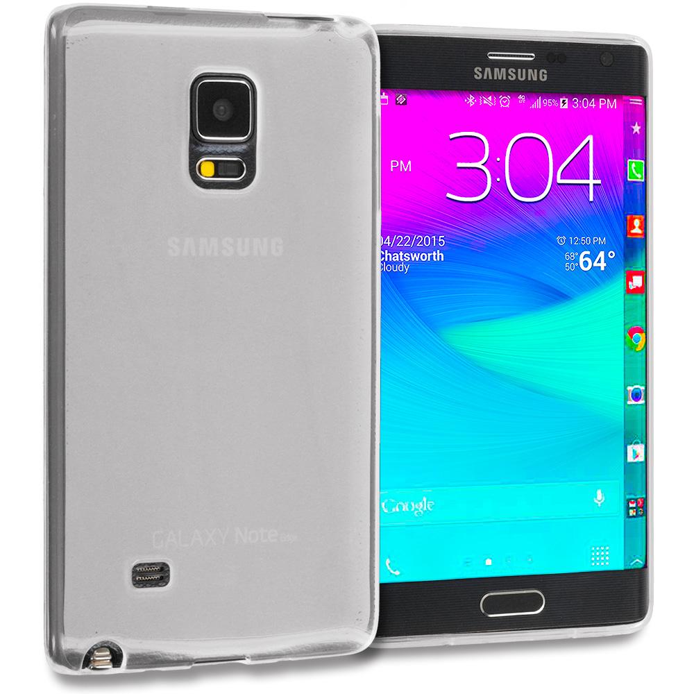 Samsung Galaxy Note Edge Clear TPU Rubber Skin Case Cover