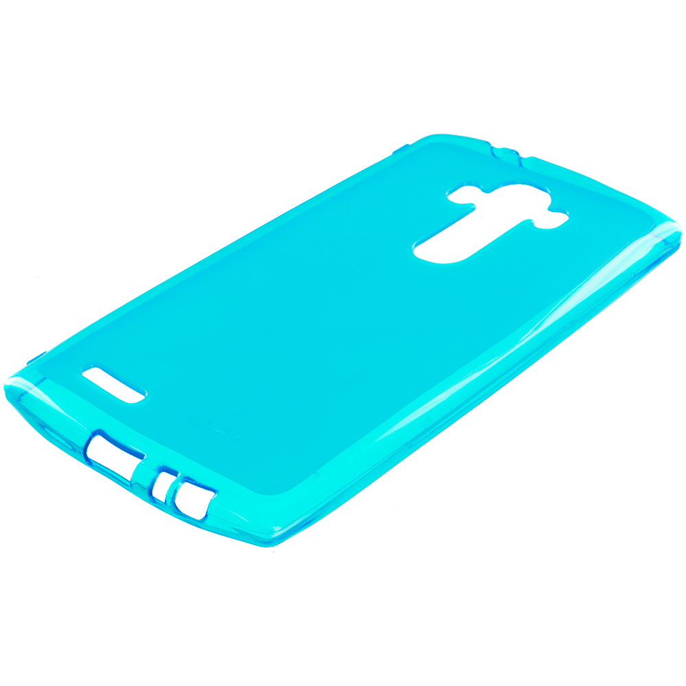LG G4 Baby Blue TPU Rubber Skin Case Cover