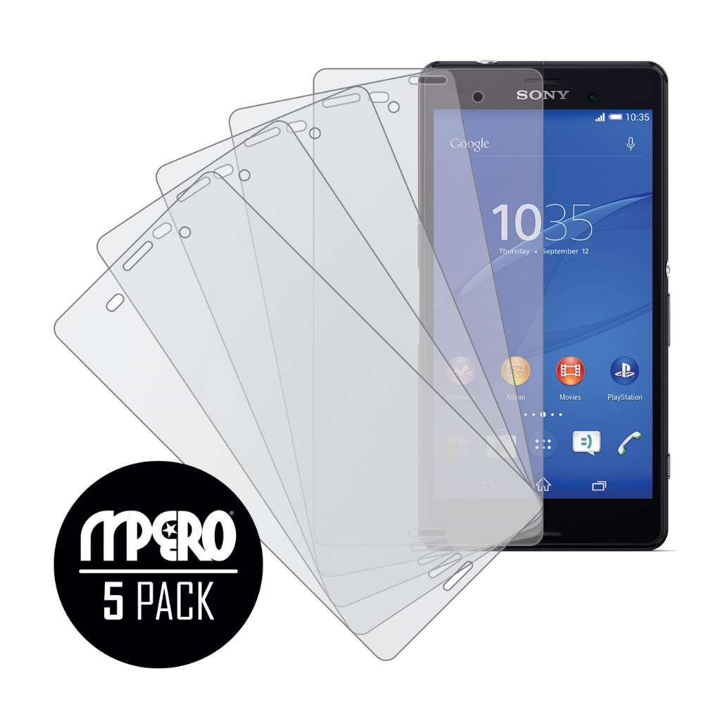 Sony Xperia Z3 MPERO 5 Pack of Matte Screen Protectors