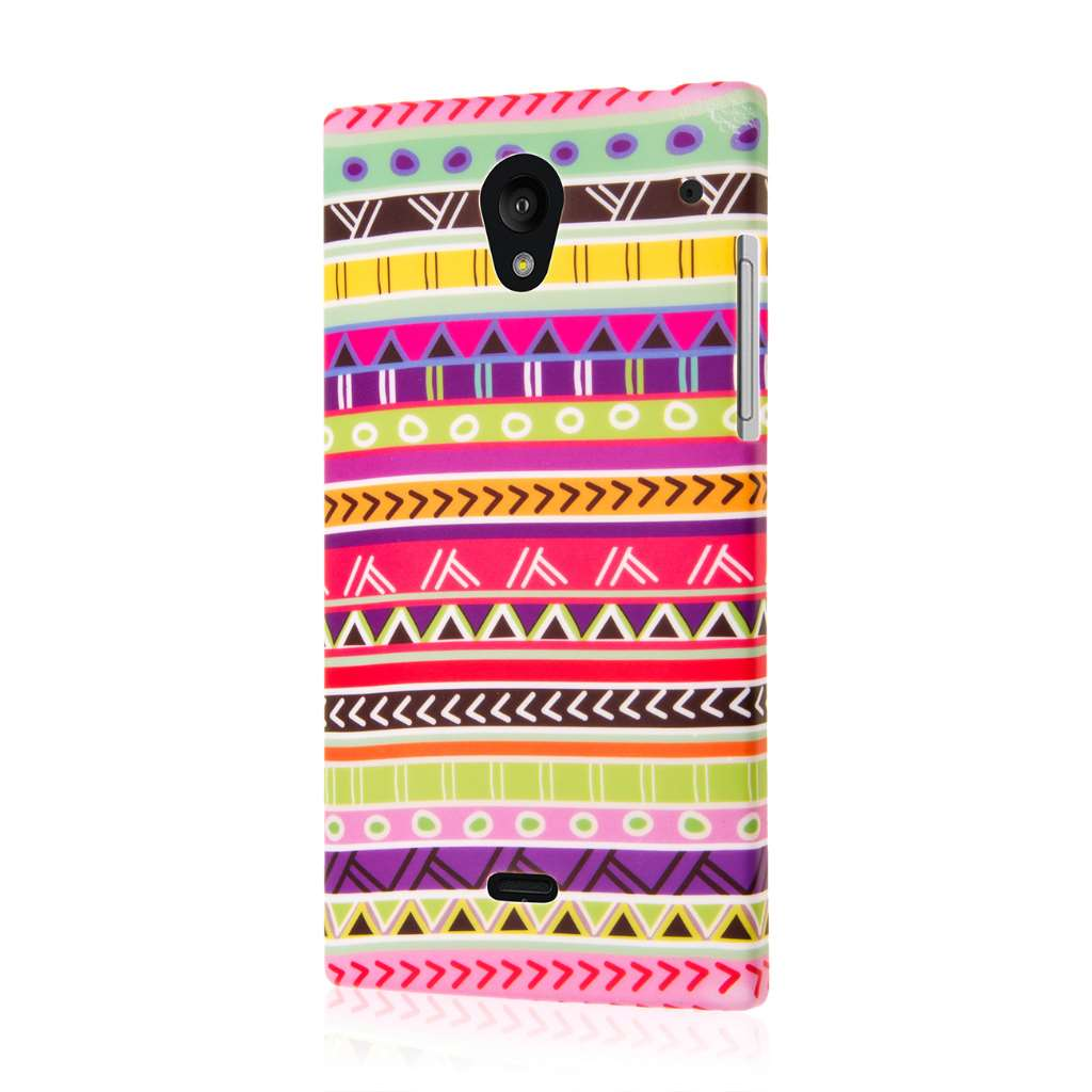 Sharp AQUOS Crystal - Aztec Fiesta MPERO SNAPZ - Case Cover