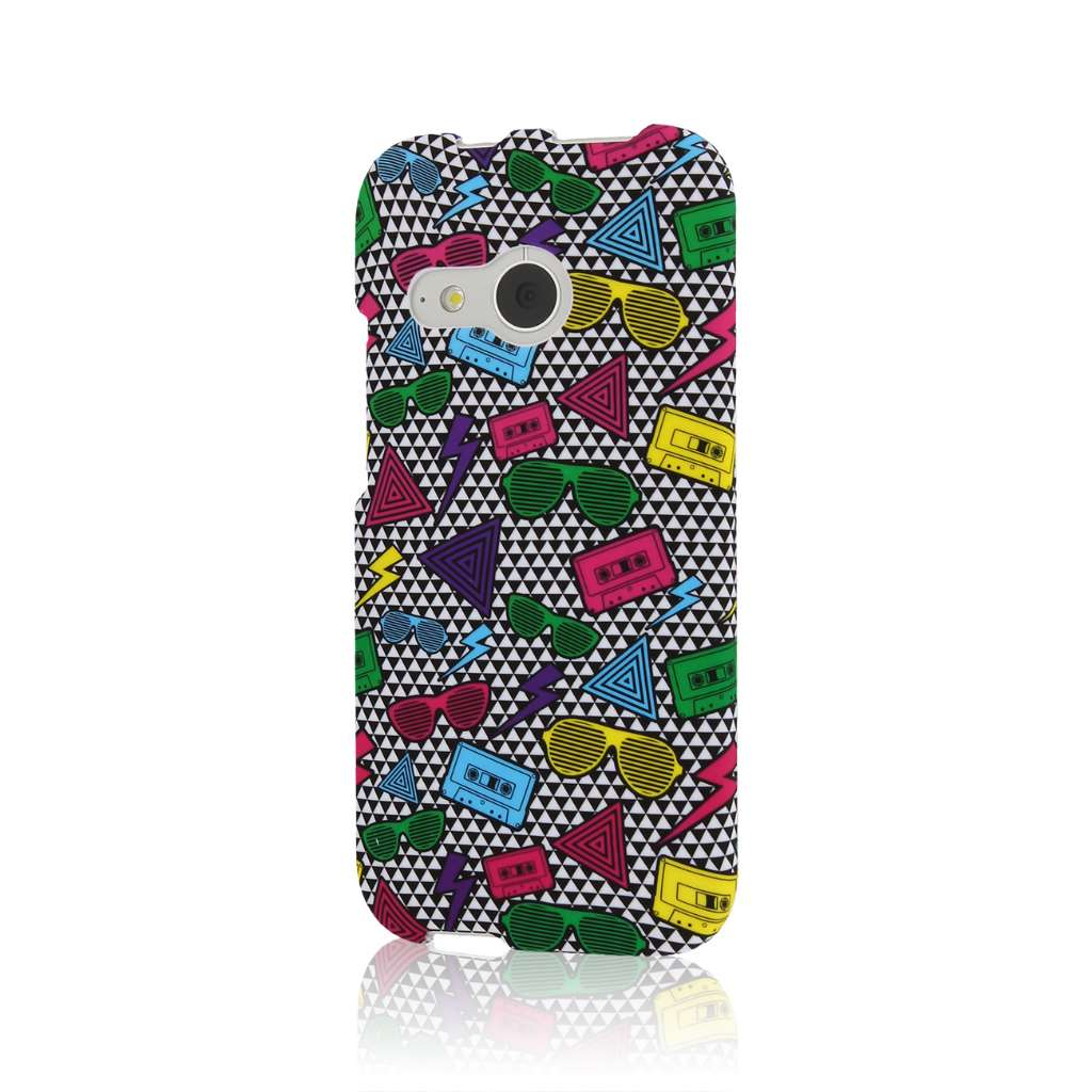 HTC One Mini 2 - Neon 90's MPERO SNAPZ - Case Cover