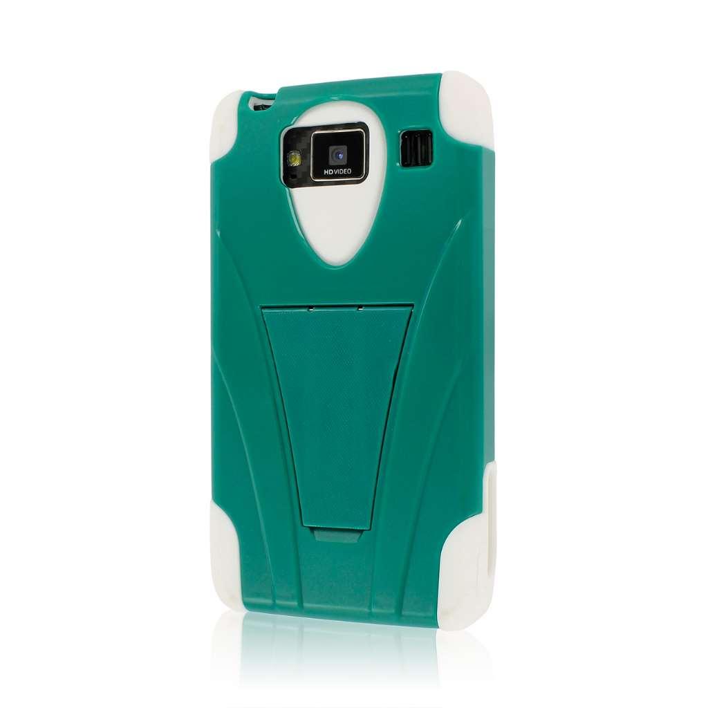 Motorola DROID RAZR MAXX HD XT926 - Teal Green MPERO IMPACT X - Stand Case
