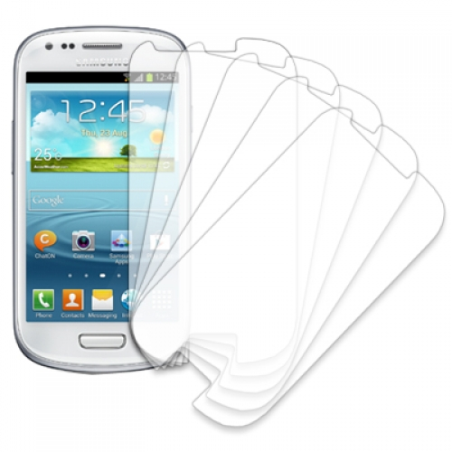 Samsung Galaxy S3 S3 Mini MPERO 5 Pack of Clear Screen Protectors