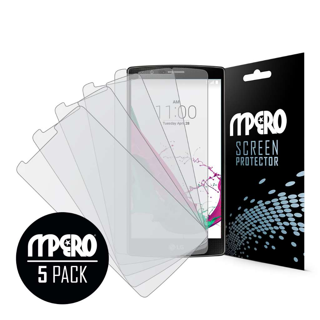 LG G4 MPERO 5 Pack of Matte Screen Protectors