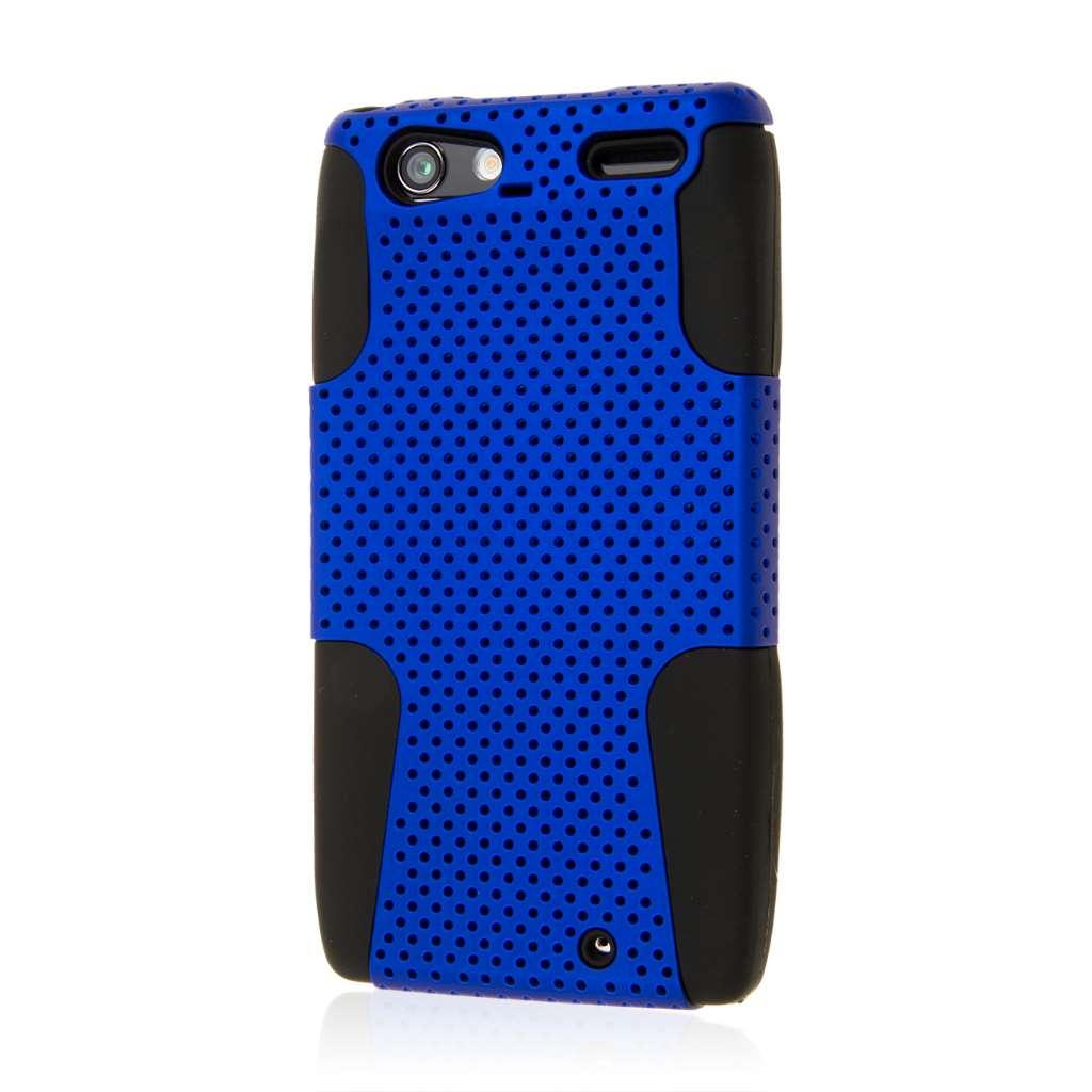 Motorola RAZR MAXX - Blue MPERO FUSION M - Protective Case Cover