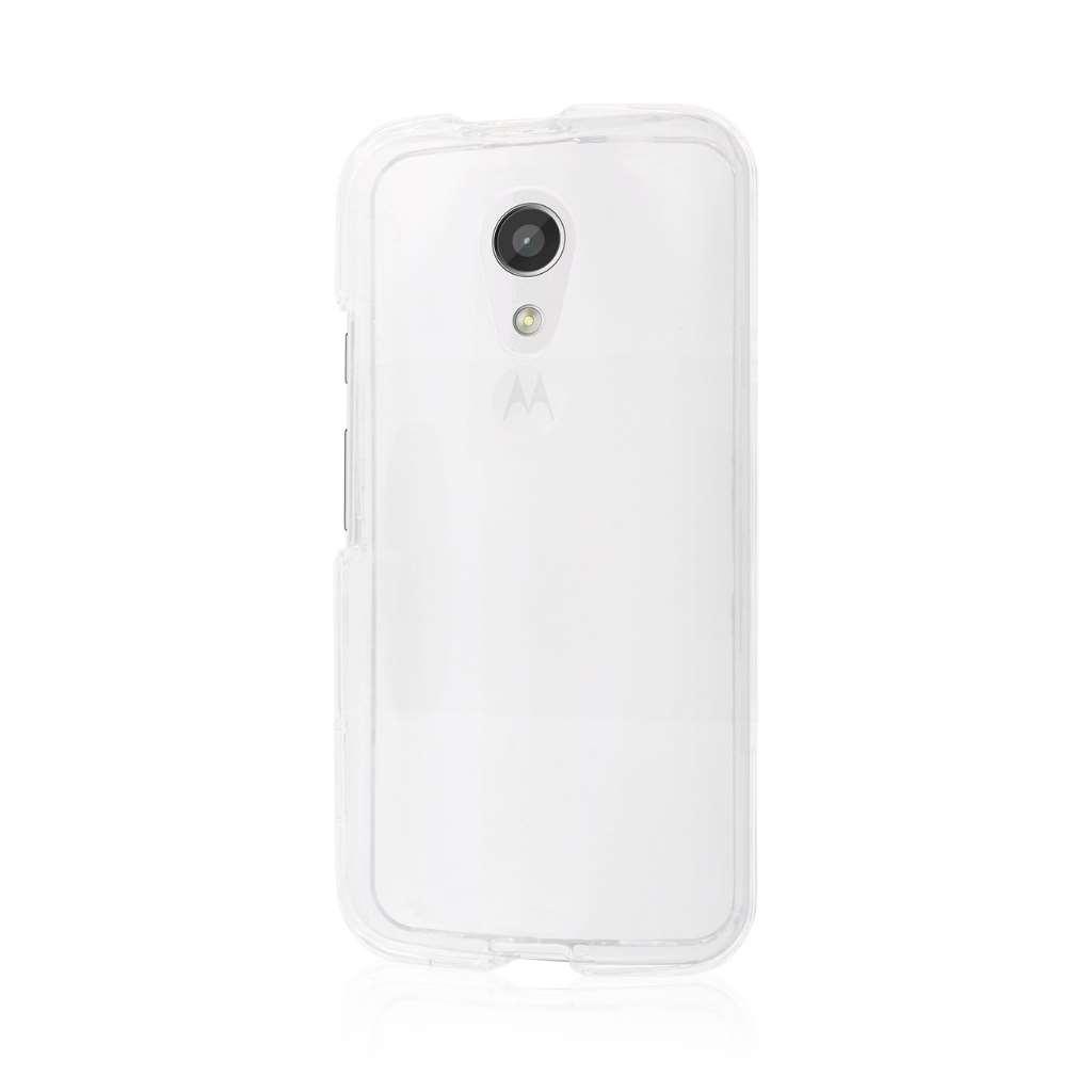 Motorola Moto G 2nd Gen 2014 - Clear MPERO SNAPZ - Case Cover