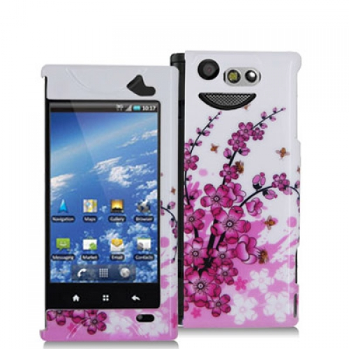 Kyocera Echo M9300 Spring Flowers Design Crystal Hard Case Cover