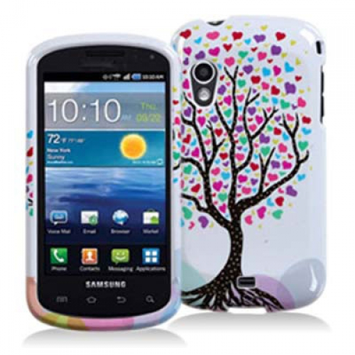 Samsung Stratosphere i405 Wishing Tree Design Crystal Hard Case Cover