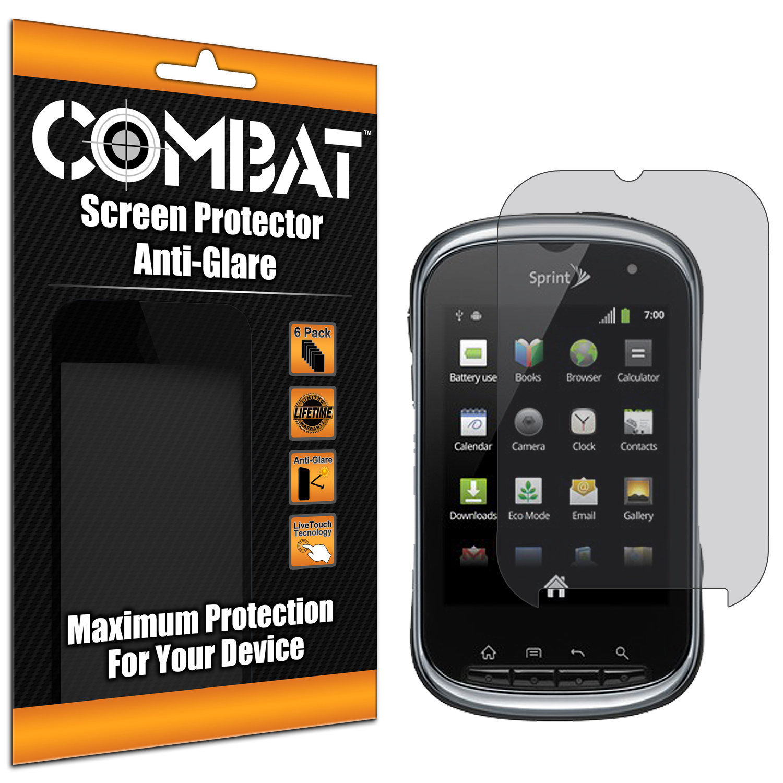 Kyocera Milano Combat 6 Pack Anti-Glare Matte Screen Protector