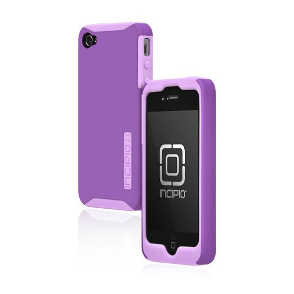iPhone 4/4S - Purple Incipio Silicrylic Case