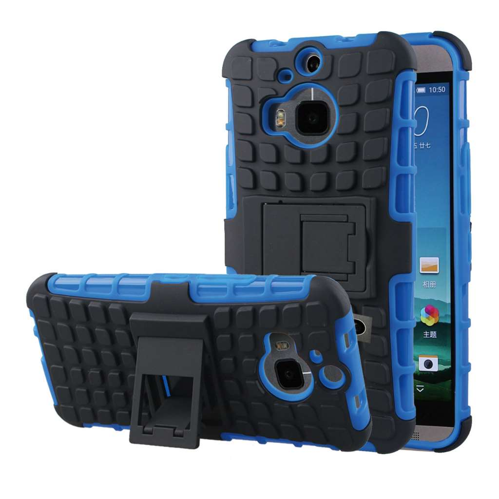 HTC One M9 Plus - Blue MPERO IMPACT SR - Kickstand Case Cover