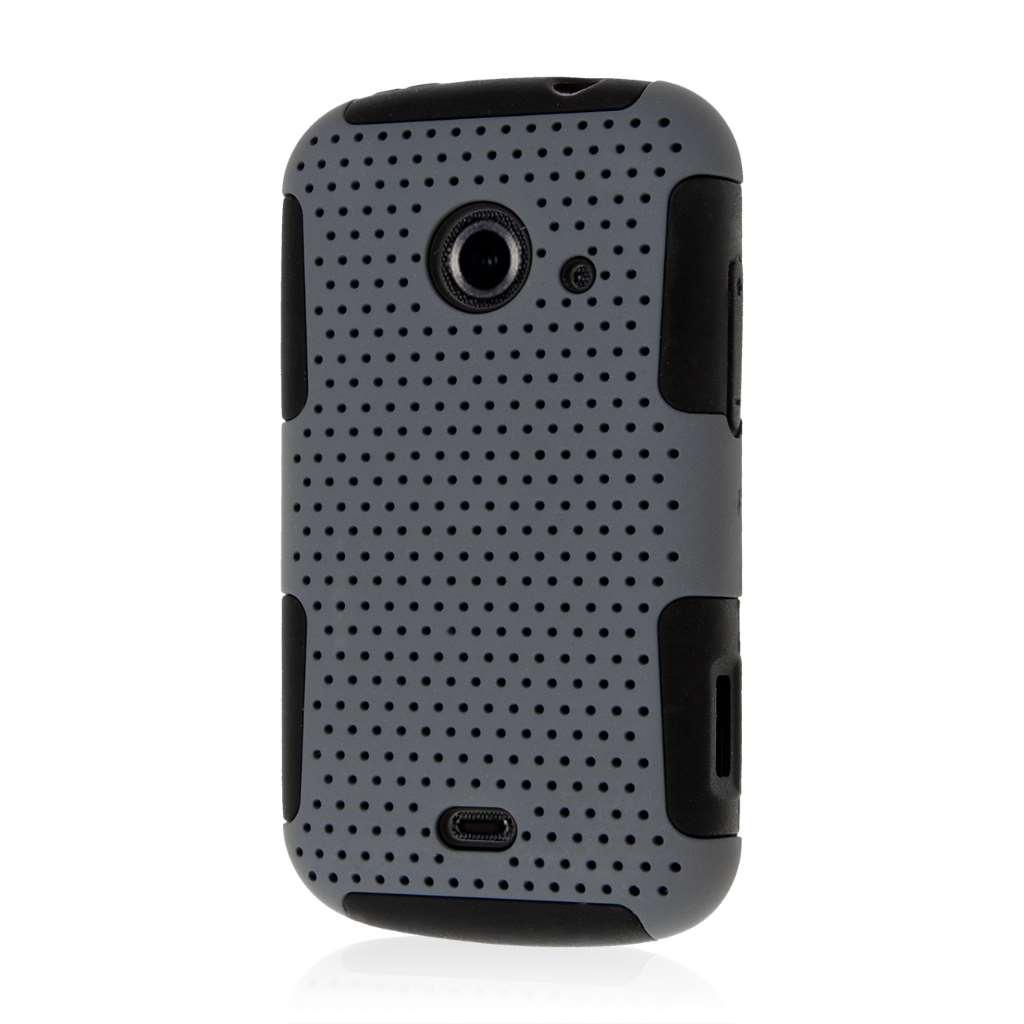 ZTE Zinger Z667 - Gray MPERO FUSION M - Protective Case Cover